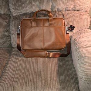 Handbags - Black web messenger bag for laptops
